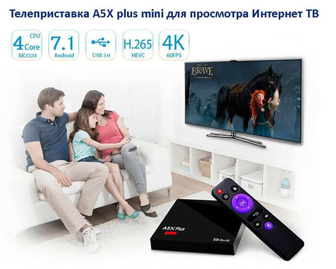 A5X Plus mini TV Box